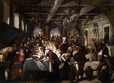 Tintoretto - Marriage at Cana, 1561, Oil on canvas, 435 x 535 cm, Santa Maria della Salute, Venice
