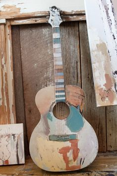 guitar painting on canvas . guitar painting on canvas easy . guitar painting on canvas acrylics . Acoustic Guitar Art, Guitar Diy, Cool Guitar, Guitar Songs, Acoustic Guitar Photography, Guitar Chords, Guitar Crafts, Easy Guitar, Ukelele Painted