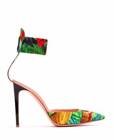 JOSEPH ALTUZARRA: SPRING-TASTIC, TROPICAL PRINT SHOES(badly wishing for these)