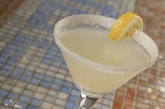 Lemoncello Lemon Droplemondrop        2 1/2 oz vodka      1/4 oz Cointreau      1 oz fresh lemon juice      1 oz lemoncello
