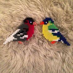 Birds hama beads by  wimbyschmidt