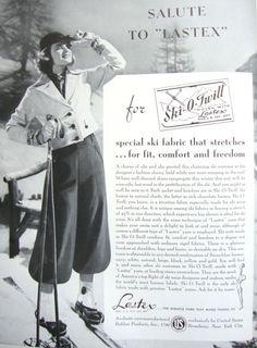 Ad Campaign: Ski-O-Twill, 1937   The Vintage Traveler http://thevintagetraveler.wordpress.com/2013/02/06/ad-campaign-ski-o-twill-1937/