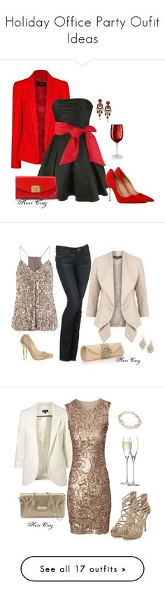 """""""Holiday Office Party Oufit Ideas"""" by keri-cruz ❤ liked on Polyvore featuring MANGO, Kurt Geiger, Sergio Rossi, Artland, Vince, Monsoon, Paige Denim, Accessorize, Jimmy Choo and Jane Norman"""