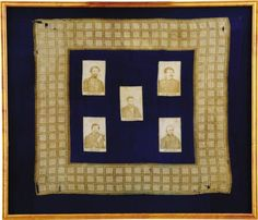 Abraham Lincoln: Highly Unusual and Significant Bandana Picturing the President with His Generals. Unlisted in Thread. on Jun 2008 Vintage Bandana, Abraham Lincoln, Jun, Auction, Pictures, Decor, Photos, Decoration, Decorating
