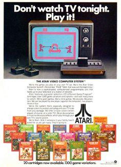 1978 Atari ad