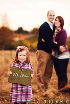 cute idea for maternity shoot