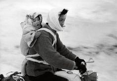 "theimperfectideal:  "" woman and child on a motorcycle, village utoru japan, maraini fosco  """