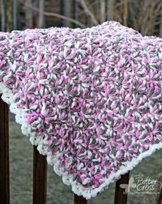 Triple the Scraps: Another {Crochet} Lap Blanket