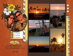 Continuing work on our 2015 photobook with our trip to the Big Island of Hawaii in October We always have su. Scrapbooking Layouts, Scrapbook Pages, Hawaii In October, Paradise Found, Big Island Hawaii, 6 Photos, Paper Crafts, Sketches, Memories