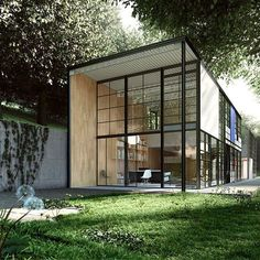 """""""Great design is making something memorable and meaningful. The Eames House, California, surpassed its original brief of being 'a home appropriate for the…"""" Architecture Design, Residential Architecture, Amazing Architecture, Windows Architecture, Natural Architecture, Architecture Interiors, Steel Frame House, Steel House, Design Exterior"""