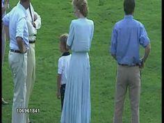 Au Cartier International Polo Day  Smiths Lawn Polo Club , le 23 juillet 1989