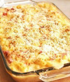 Pork Recipes, Diet Recipes, Cooking Recipes, Hungarian Recipes, Italian Recipes, Tasty, Yummy Food, Potato Cakes, Macaroni And Cheese