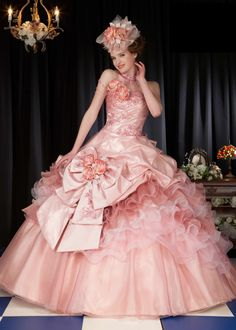 dball~dress・ballgown ・ドレス・夜会服