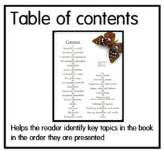 We have been connecting creatures from Eric Carle's books to nonfiction texts. I can see a huge increase in the interest of nonfiction book. Nonfiction Text Features, Fiction And Nonfiction, First Grade Lessons, Math Lessons, Readers Workshop, Writing Workshop, Teaching Genre, Anchor Charts First Grade, Library Lessons