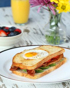 Egg-in-a-Hole Sandwich in 15 Minutes or Less  In 15 Minutes or less, your mom can have the tastiest breakfast in bed! She'll be delighted! And you can be too by switching to GEICO. http://on.gei.co/2pBfcES