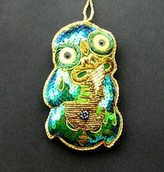 Beaded New Zealand Maori Tiki Xmas Ornament - tiki xmas ornament, tiki christmas decoration, ... - Shopenzed.com