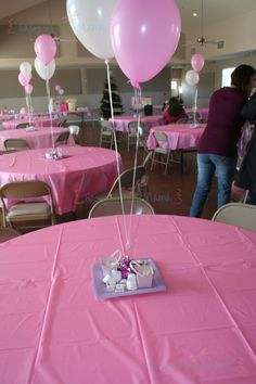 baby shower decorations-different color scheme. Possibly neon blue, neon  pink, neon orange, neon green, and yellow.