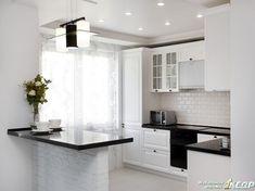 Urban Kitchen, Kitchen Sets, Kitchen Interior, Kitchen Decor, L Shaped Kitchen Designs, Kitchen Booths, Neoclassical Interior, Inspiration Design, Dining Nook