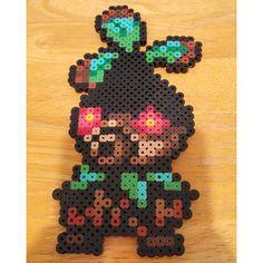 Deku Tree Sprout - The Legend of Zelda: Ocarina of Time perler beads by crazyperlergirl