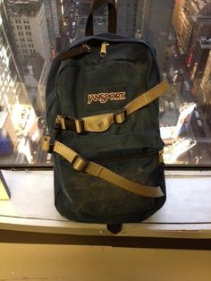 Legendary Peter Parker's backpack at Amazing Spiderman movie