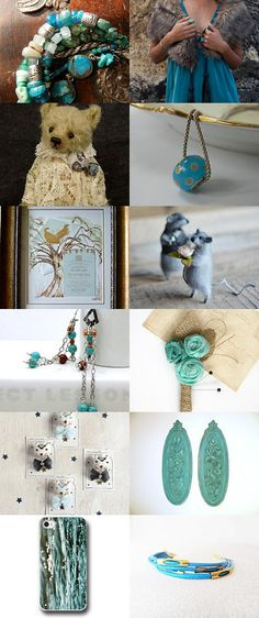 ~ Mom loved Teal ~ by Scarlett on Etsy--Pinned with TreasuryPin.com