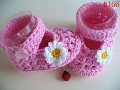 Zapatitos tejidos a crochet (7)