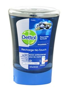 Dettol recharge no-touch refill hand wash 250ml blackcurrant