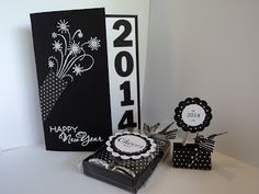 handmade new year card from card corner by candee this blogger is way