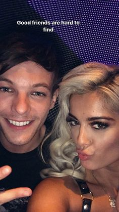 Louis and Bebe Bebe Rexha, Louis Tomlinsom, Louis And Harry, Good Friends Are Hard To Find, Best Friends, Jonathan Ross, S Curl, Perfect Together, Louis Williams