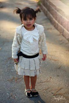 Loopy skirt plus darling shoes!!!