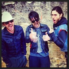 """Thirty Seconds to Mars - """"We went to see the launch pad up close"""" Cape Canaveral 1 March 2013"""