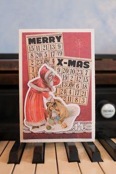 Ach herrje, das Spielzeug ist im Schnee gelandet!  Der Weihnachtsmann wird's schon wieder richten und alle Geschenke rechtzeitig abliefern. Merry, Joy, Instagram, Santa Clause, Snow, Xmas Cards, Clearance Toys, Gifts, Glee