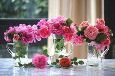 Jarras como floreros