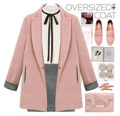 """Chic Oversized Coats"" by aguniaaa ❤ liked on Polyvore featuring Polaroid, Frame, Forever 21, H&M and FOSSIL"