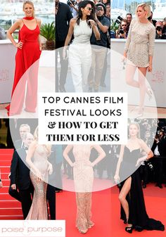 Poise and Purpose is on point with their top picks for Cannes Film Festival looks and how to get the looks for less. Beauty Tips Every Girl Should Know, Beauty Tips For Face, Beauty Hacks, Festival Looks, Hair Care Tips, Cannes Film Festival, All About Fashion, Get The Look, I Movie
