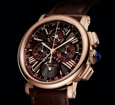 As we've told you before, Cartier is making a concerted and highly credible push into the realm of high-end watchmaking, and over the past few years, has become a true force. Today, we are happy to announce an entirely new watch for Cartier, the Rotonde de Cartier Perpetual Calendar Chronograph, made entirely in-house. Wait, does that mean Cartier has made a new in-house chronograph movement? They have, and we'll tell you more about it after the jump.