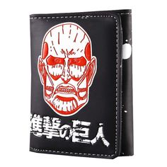 Dreamcosplay Anime Attack on Titan Male Short Wallet Student Wallet Cosplay -- Details can be found by clicking on the image.