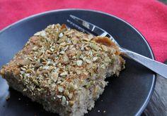 Gluten-free, Vegan Apple Coffee Cake on www.balancedplatter.com
