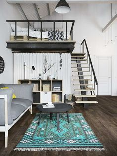 78 best Mezzanine images on Pinterest | Staircases, Attic spaces and ...