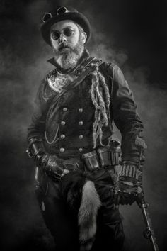 """Laurent """"Steampunk"""" by Herion Jean-Claude"""