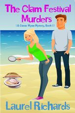 Meet Cassie Wynn from The Clam Festival Murders #cozymystery @Laurel_R_books #RLFblog | Romance Lives Forever