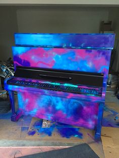 Graffiti painted piano. Visit Hayden Griffiths Music for more - haydengriffithsmusic@outlook.com