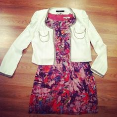 dress + jacket @ Isabelle & Co.