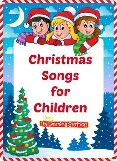Christmas Songs for Children with Lyrics: These songs can be shared at your morning meeting to enhance your Christmas theme. They are also great for circle time, brain breaks and indoor recess. And they make great songs for children to perfor