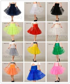 "26"" Vintage Short Petticoat Crinoline Underskirt Fancy Skirt Slips Tutu NORIVIIQ #Petticoat"