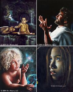 More inspirational paintings from a child.  Shangrala's Akiane Child Prodigy http://www.artakiane.com/