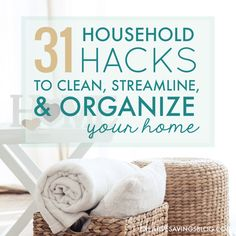 Housework piles up FAST if you don't have a system to maintain it. These tried-and-true household hacks come from the best homemakers on the web!