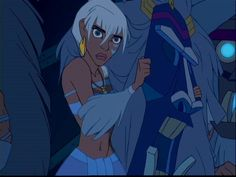Kidagakash Nedakh is a character in Atlantis: The Lost Empire who is Princess of the lost continent of Atlantis. She would reappear in the direct-to-video sequel Atlantis: Milo's Return, now as Queen of Atlantis. She is the deuteragonist in both films. Kidagakash Nedakh is the daughter of Kashekim Nedakh, the king and ruler of Atlantis at the height of its power. At a very young age, she is witness to the near destruction of the central city of the continent when her mother, The Queen of...
