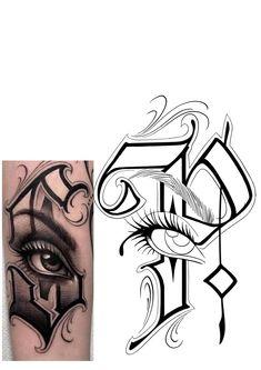 Aztec Tattoo Designs, Family Tattoo Designs, Armband Tattoo Design, Sketch Tattoo Design, Tattoo Sketches, Tattoo Drawings, Tattoo Outline Drawing, Harley Tattoos, Chicano Art Tattoos