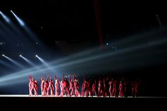 Dancers perform Time Forward!/Suprematic Ballet during the Opening Ceremony of the Sochi 2014 Winter Olympics at Fisht Olympic Stadium on Fe...
